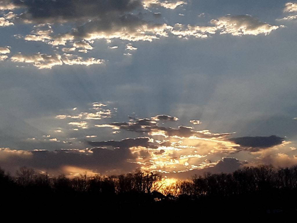 Sunset in Greeneville, TN